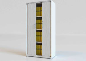 China Metal Office Filing Cabinet with Plastic Tambour Door (SE-RD ...