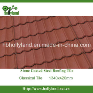 Stone Coated Metal Roof Tile (Classical Tile) pictures & photos