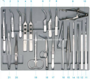 Szy-Cbm21 Instrument Set for Ophthalmic Surgery pictures & photos