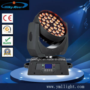 RGBW LCD Display 36PCS 10W LED Wash Moving Head pictures & photos