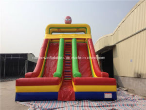 Inflatable Super Man Slide for Amusement Park pictures & photos