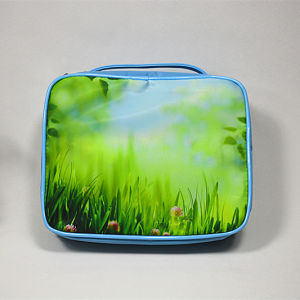 Customized Colourful Portable Toiletry Bag Girls Wash Bag pictures & photos