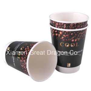 1.5-32 Ounce Hot Beverage Paper Cups and Lids (PC11017) pictures & photos