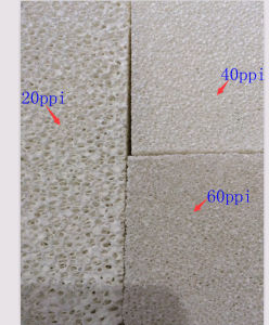 Alumina Ceramic Foam Filter for Smelting pictures & photos
