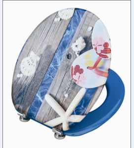 Printing Moulded Wood Toilet Seat (shell)