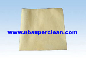 Microfiber Nonwoven Cleaning Chamois Cloth (CN3201) pictures & photos