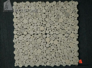 Star White Marble Mosaic Tile for Bathroom Wall and Floor pictures & photos