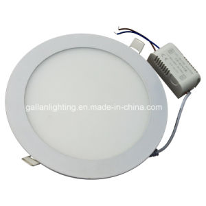 2015 Hot Sale 15W Slim Type Round LED Panel Light (GHD-PR-15W) pictures & photos