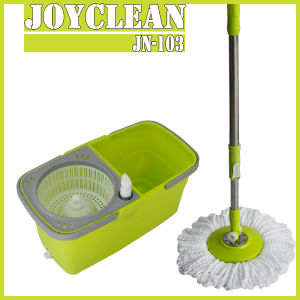 Joyclean Latest Seperable Twins Bucket Spin Mop Jn-103 pictures & photos