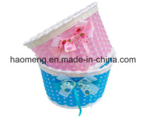 2016 Colorful Children Bicycle Plastic Basket pictures & photos