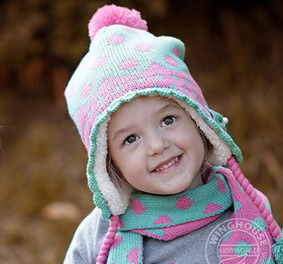 Fashion Striped Baby Knitted Beanie Hat pictures & photos