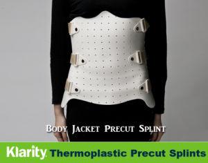 Thermoplastic Splints - Body Jacket Pre-Cut Splints pictures & photos
