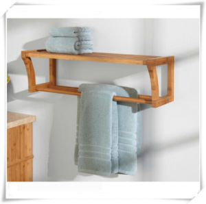 Decorative Bathroom Bamboo Towel Hanger pictures & photos