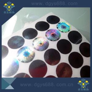 Circle Shape Hologram Sticker Label pictures & photos