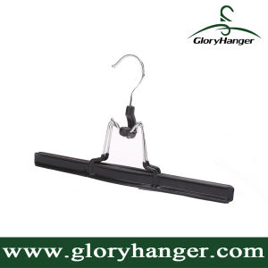 PVC Coated Metal Bottom / Skirt Hanger with Clips (GLMH126) pictures & photos