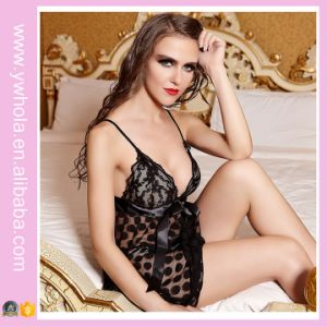 2016 Hotsale New Style Christmas Sexy Lingerie Europe Style Ladies Night Lace Underwear pictures & photos