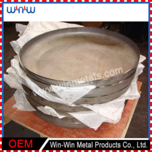 Deep Drawn Parts Round Metal Lid (WW-DD015) pictures & photos