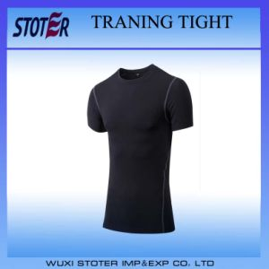 Blank Dry Fit Tight Sports Men Training Shirt