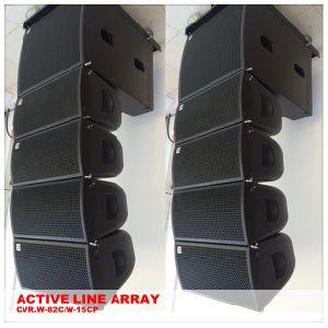 Mini Active Line Array Speaker Indoor PA Speakers pictures & photos
