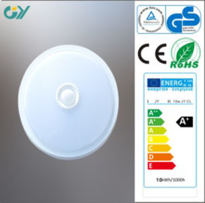 CE RoHS Approved 3000k 9W 0.9PF Sensor LED Ceiling Light pictures & photos