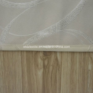 New 100% Polyester Shrinkage Jacquard Window Curtain pictures & photos