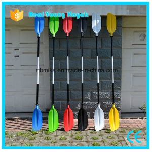Two-Piece Aluminum Shaft Adjustable Wholesale Kayak Paddle pictures & photos