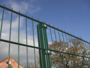 PVC Coating Iron Double Wire Security Fence pictures & photos
