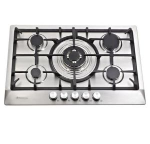 Cast Iron Pan Supporter Built in Gas Cooker with 4 Burner pictures & photos