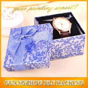 Hot Stamping Logo Paper Gift Watch Box (BLF-GB063) pictures & photos