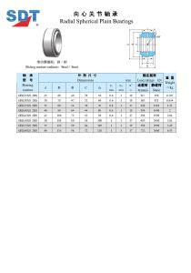 Requiring Maintenance Radial Spherical Plain Bearings (SA3...A / GEK...XS-2RS) pictures & photos