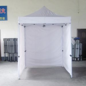 2X2m Cheap Steel Outdoor Promotion Pop up Gazebo with Wall pictures & photos