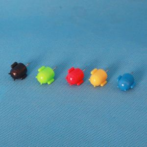 Coloured Plastic Android Push Pin (QX-HP002) 11*22mm pictures & photos