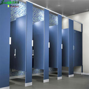 Jialifu Blue Color 304 Ss Phenolic Laminate Toilet Cubicle pictures & photos