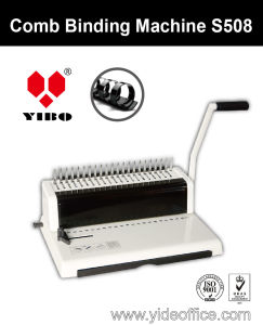 A4 Size Mini Comb Binding Machine (S508) pictures & photos