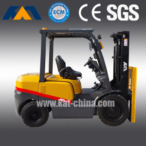 4ton Cheap Diesel Forklift Truck with CE and Isuzu Engine pictures & photos