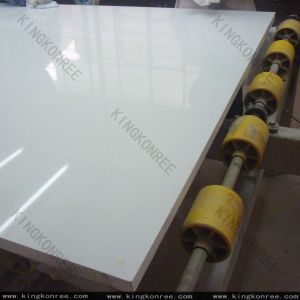 Big Size Slabs Sparkle Grey Mirror Color Quartz Stone pictures & photos