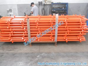 Kwikstage System Scaffolding in Orange for Sales pictures & photos