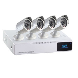 HD Video Surveillance Kits 4 CH IP Camera and NVR Poe (IPS-K01) pictures & photos