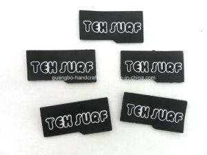 Custom Clothings Garment Soft PVC Silicone Labels pictures & photos