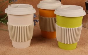 Bamboo Fiber Tableware Coffee Cup/Mug (BC-C1024) pictures & photos