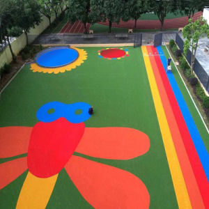 Eco-Friendly Synthetic Turf for Children Play (G13-1) pictures & photos