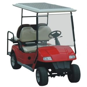 Golf Cart with Solar Panel 185W pictures & photos