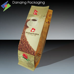 Coffee Bag with Valve Pillow&Plastic Packaging pictures & photos