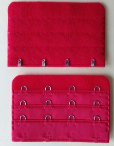 "Bra Extender Hook and Eye Tape Accessories- 3/4"" 3X4 pictures & photos"