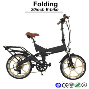 20 Inch Mini Folding Electric Bike/Hidden Battery E Bicycle pictures & photos