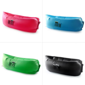 8 Colors Hot Selling Air Sofa Bed, Lightweight Hangout Inflatable Sleeping Bag