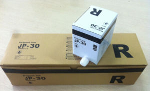 Compatible Jp30 Black Ink for Ricoh/ Gestetner Jp3000/ Jp3800 Duplicator pictures & photos
