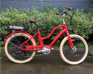 Kaiyi Lady 26′ Tire 36V Lihitum Battery 250W Popular City Electric Bike