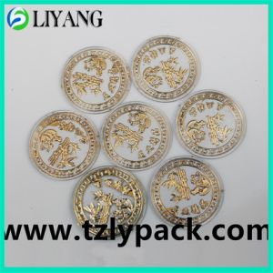 Hot Stamping Foil for Plastic Round, Gold Foil pictures & photos