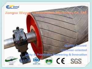 Exterior Deceleration Rubber Coated Drum, Motorized Pulley for Conveyor Belt pictures & photos